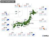 実況天気(2021年06月15日)