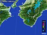 雨雲レーダー(2015年01月06日)