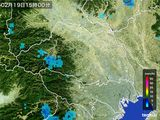 雨雲レーダー(2015年02月19日)
