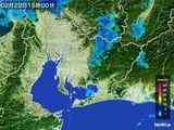 雨雲レーダー(2015年02月22日)