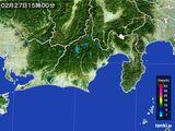 雨雲レーダー(2015年02月27日)