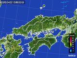 雨雲レーダー(2015年03月04日)