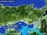 2015年03月06日の兵庫県の雨雲レーダー