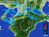 雨雲レーダー(2015年03月10日)