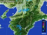 2015年04月01日の奈良県の雨雲レーダー