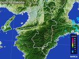 2015年04月07日の奈良県の雨雲レーダー