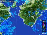 2015年04月13日の和歌山県の雨雲レーダー