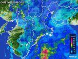 雨雲レーダー(2015年04月14日)