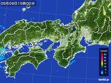 2015年05月06日の近畿地方の雨雲レーダー