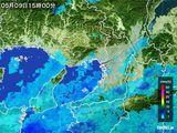 2015年05月09日の大阪府の雨雲レーダー