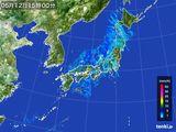 2015年05月12日の雨雲の動き