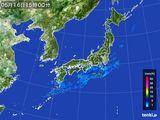 2015年05月16日の雨雲の動き