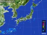 2015年05月20日の雨雲の動き