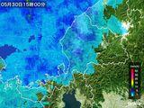 雨雲レーダー(2015年05月30日)