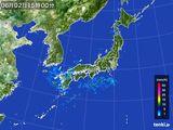 2015年06月02日の雨雲の動き