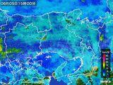 2015年06月05日の兵庫県の雨雲の動き