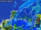 雨雲レーダー(2015年06月05日)