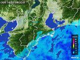 雨雲レーダー(2015年06月14日)