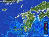 雨雲レーダー(2015年06月15日)