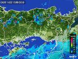2015年06月16日の兵庫県の雨雲の動き