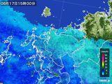 雨雲レーダー(2015年06月17日)