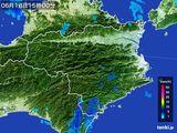 2015年06月18日の徳島県の雨雲の動き