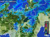 雨雲レーダー(2015年06月19日)