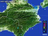 2015年06月19日の徳島県の雨雲の動き