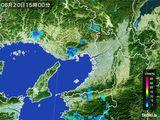 雨雲レーダー(2015年06月20日)