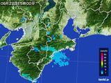 雨雲レーダー(2015年06月22日)