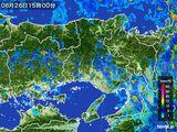 2015年06月26日の兵庫県の雨雲の動き