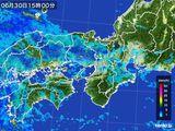 2015年06月30日の近畿地方の雨雲レーダー