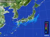2015年07月05日の雨雲レーダー