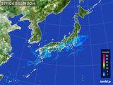 2015年07月06日の雨雲レーダー