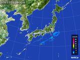2015年07月15日の雨雲レーダー