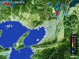 2015年08月07日の大阪府の雨雲レーダー