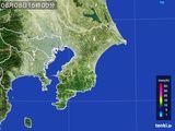2015年08月08日の千葉県の雨雲レーダー