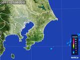 2015年08月11日の千葉県の雨雲レーダー