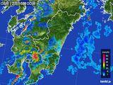 2015年08月12日の宮崎県の雨雲の動き