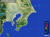 2015年08月15日の千葉県の雨雲レーダー
