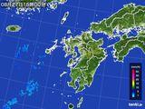 雨雲レーダー(2015年08月27日)