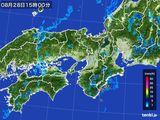 雨雲レーダー(2015年08月28日)