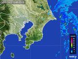 2015年08月28日の千葉県の雨雲レーダー