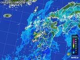 雨雲レーダー(2015年08月29日)