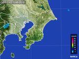 2015年08月29日の千葉県の雨雲レーダー