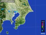 2015年09月04日の千葉県の雨雲レーダー