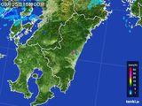 2015年09月05日の宮崎県の雨雲の動き