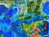 2015年09月06日の奈良県の雨雲レーダー