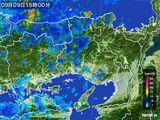 2015年09月09日の兵庫県の雨雲レーダー
