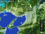 2015年09月12日の大阪府の雨雲レーダー